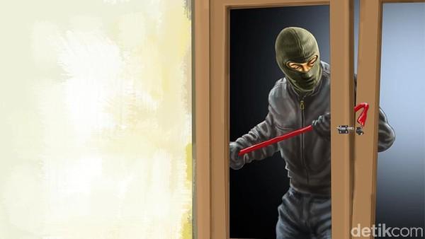 Ilustrasi Pencurian Rumah