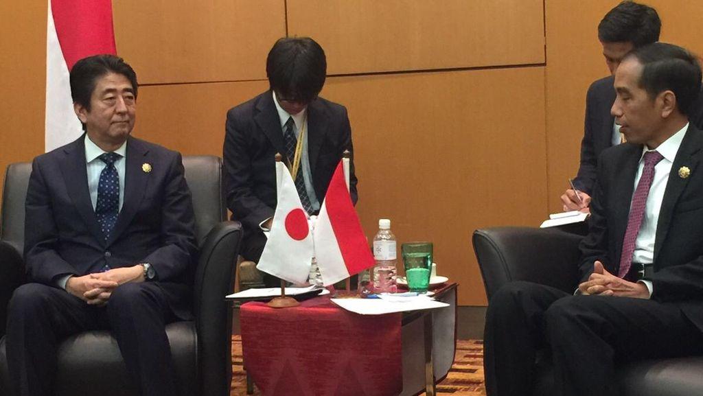 Bawa Banyak Investor Jepang, Shinzo Abe: RI Bisa Belajar Teknologi
