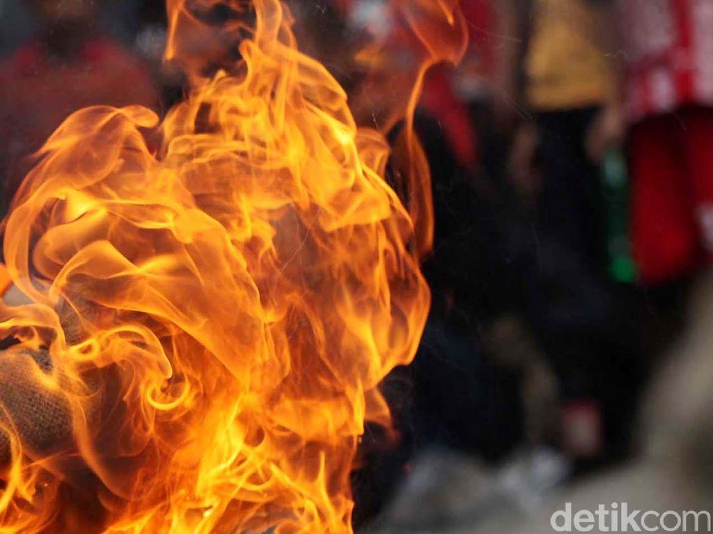 Pria di Medan Dibakar Saat Hendak Pulang ke Rumah, 1 Pelaku Ditangkap