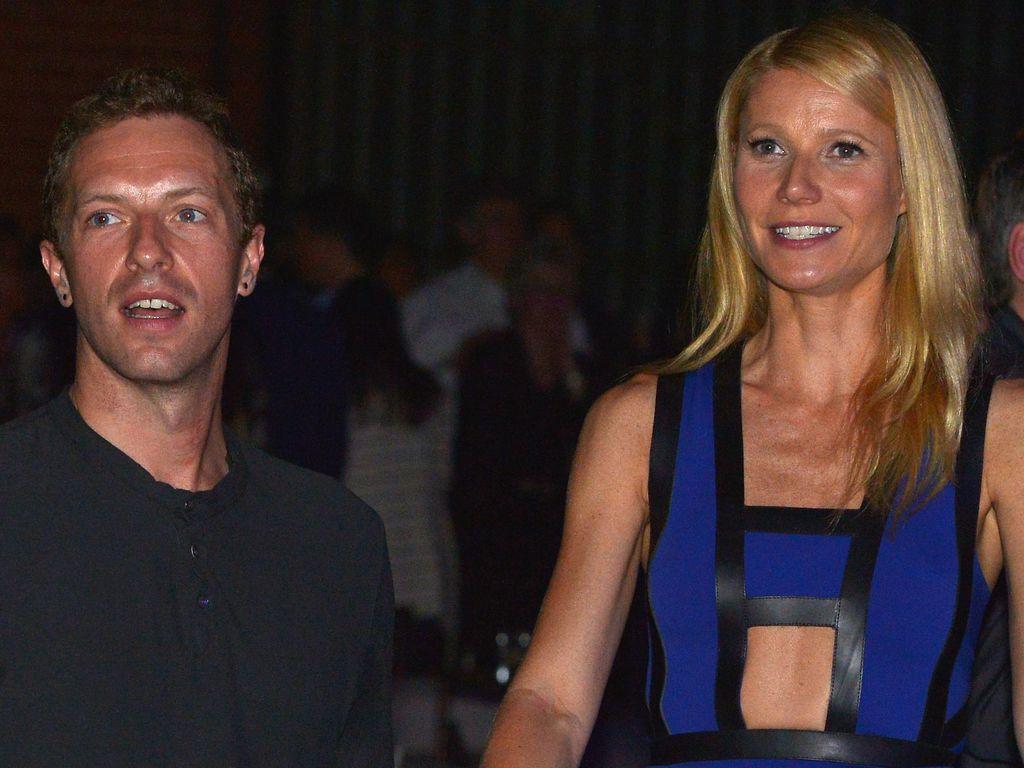 Manisnya Co-Parenting Chris Martin Coldplay dan Mantan Istri