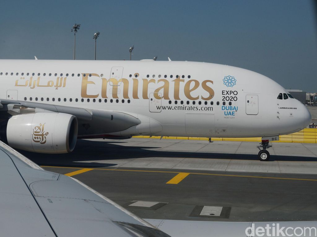 10 Penumpang dan Kru Emirates yang Dirawat di RS Positif Influenza