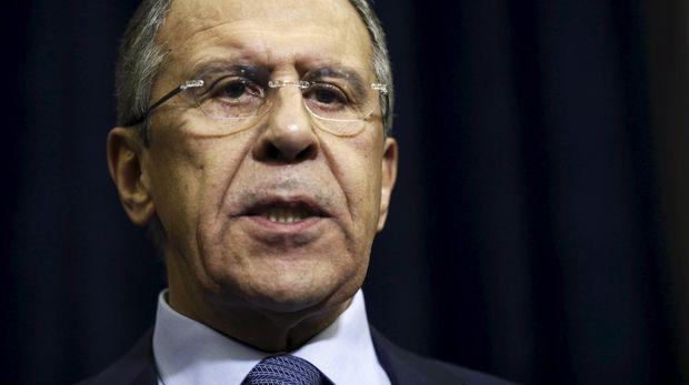 Menlu Rusia Sergei Lavrov