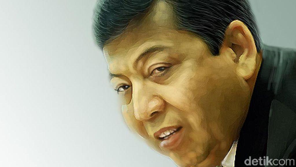 Novanto Sebut Presiden Jokowi Koppig Alias Keras Kepala