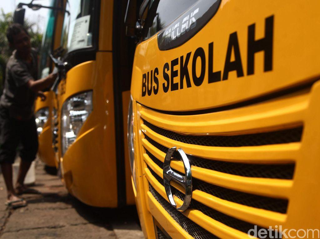 Dishub DKI Siapkan 70 Bus Sekolah untuk Pembelajaran Tatap Muka
