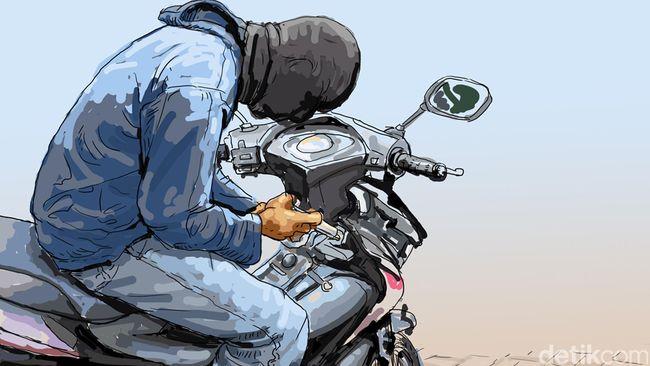 Curi 11 Motor, Ojek Online di Makassar Dibekuk Polisi