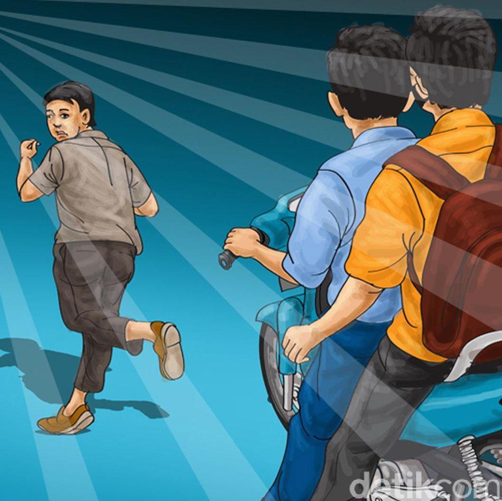 Diduga Tegur Pemotor Nakal di Denpasar, 2 Anggota Ormas Dikeroyok