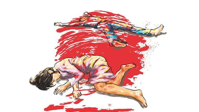 Lawan Polisi, Residivis Pembantai Istri-Mertua di Makassar Ditembak!