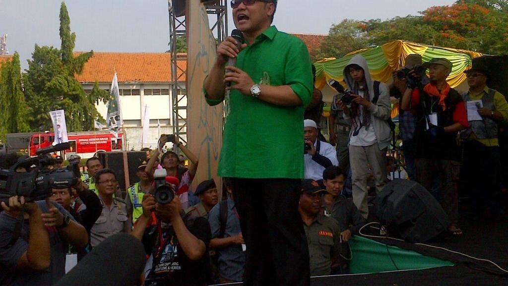 Pilkada Serentak, Ketum Parpol Berdatangan ke Semarang untuk Kampanye Terbuka