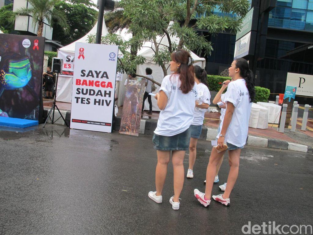 Kampanye Hak Saya Untuk Sehat Peringati Hari AIDS Sedunia