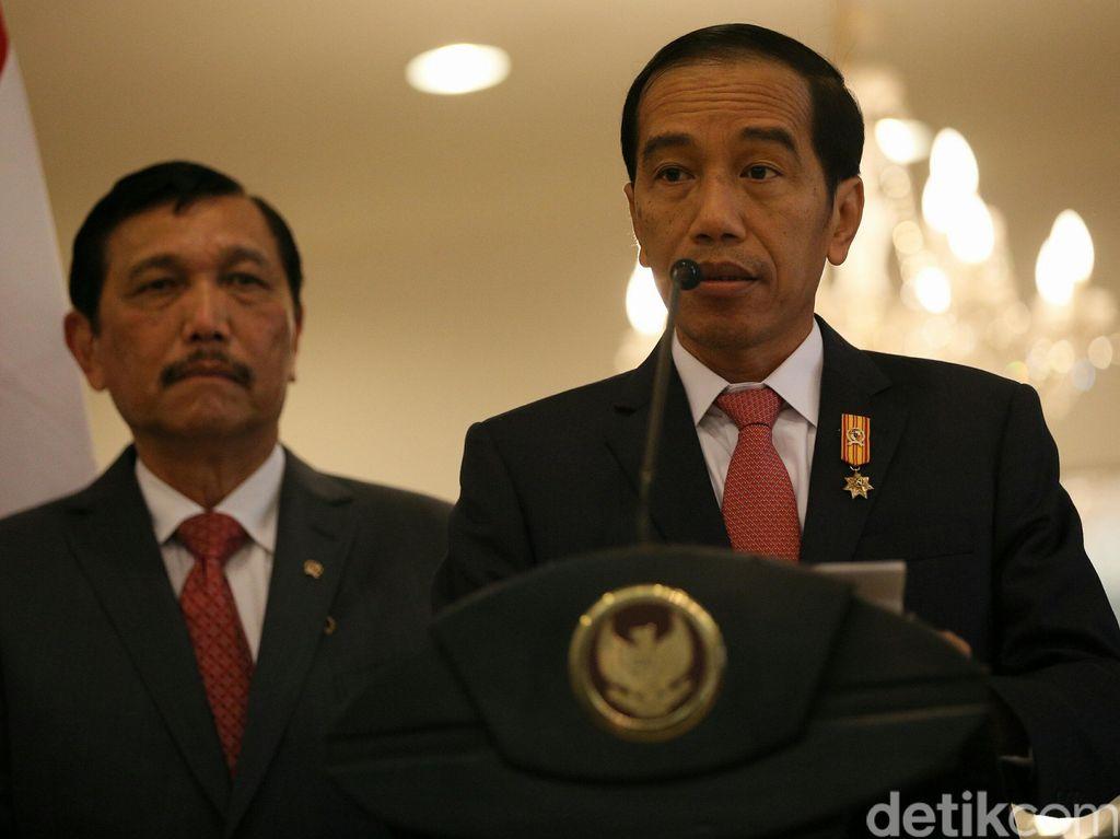 Jokowi Gaungkan Benci Produk Asing, Begini Penjelasan Luhut