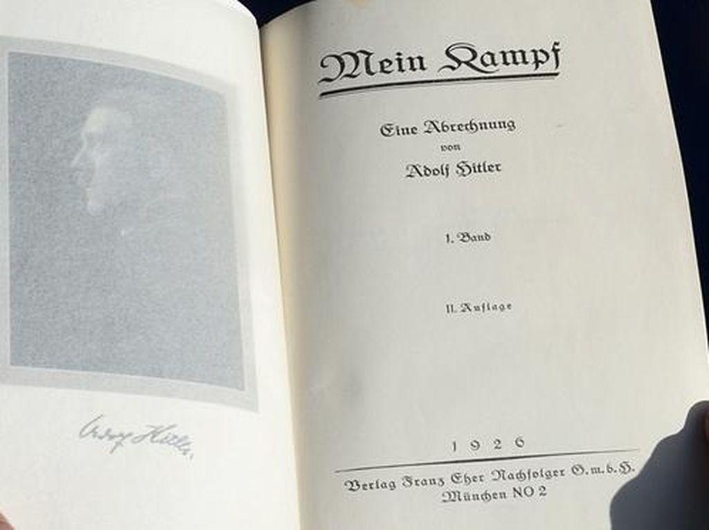 Awal Januari, Buku Mein Kampf Adolf Hitler Dijual di Toko Buku Jerman