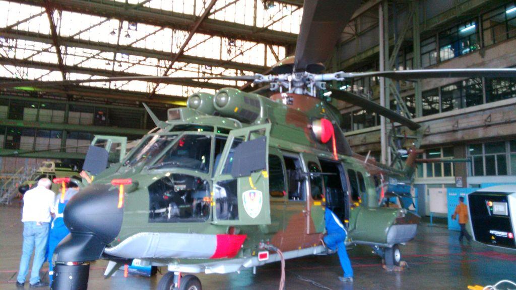 Ini Keunggulan Helikopter EC725 Cougar Buatan PT DI