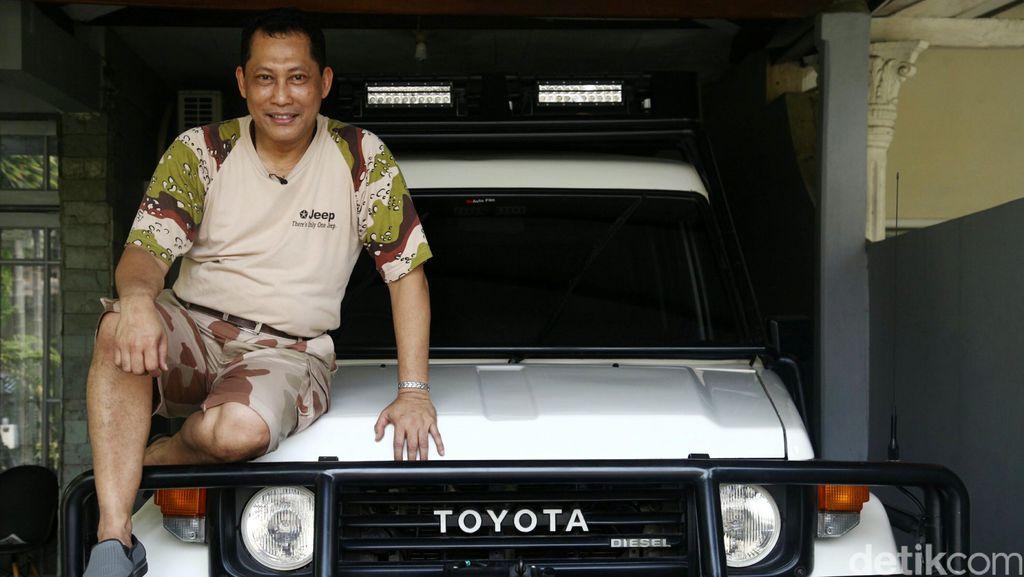 Tunggangan Komjen Buwas: Jeep Putih K 4 MU dan Taft Kebo Kenangan