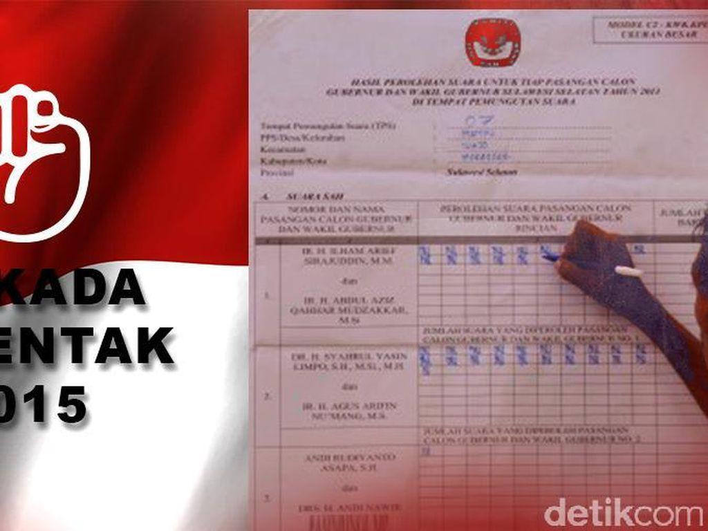 264 Kabupaten/Kota Laksanakan Pilkada Serentak, Pilih Calonmu!