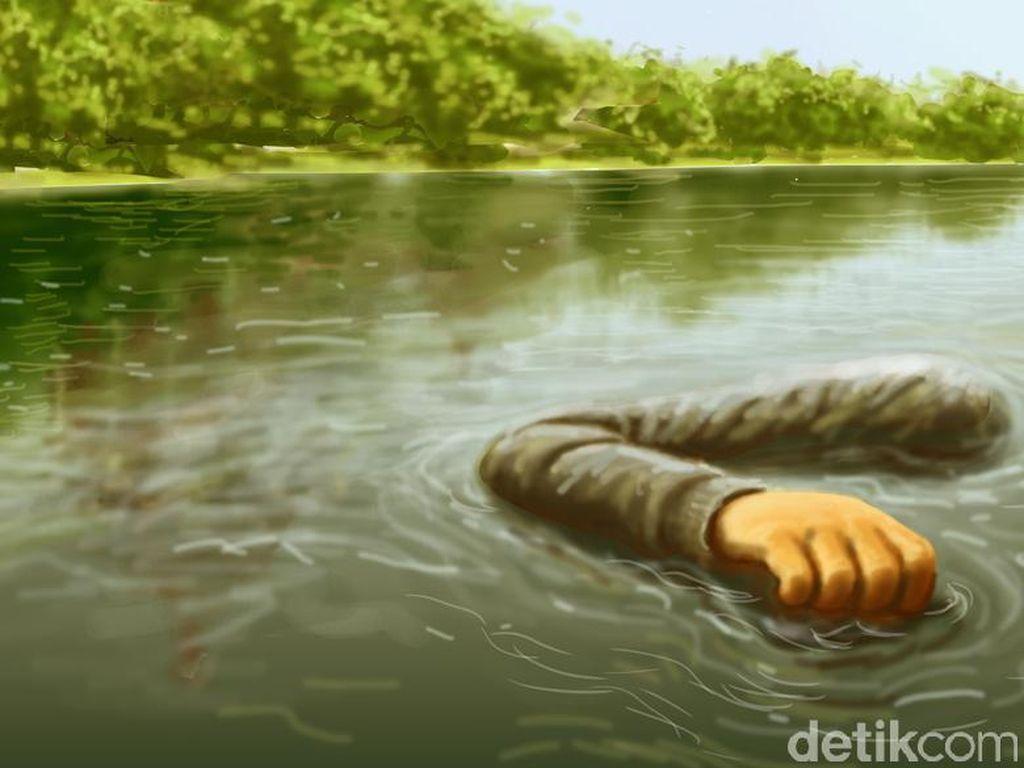 Terpeleset Saat Mandi di Bibir Sungai Musi, Noval Ditemukan Tewas