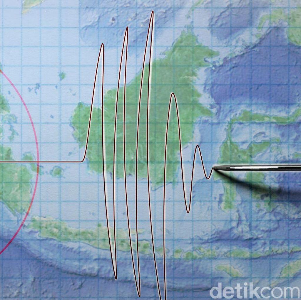 Gempa Bumi di Deli Serdang Terjadi 2 Kali