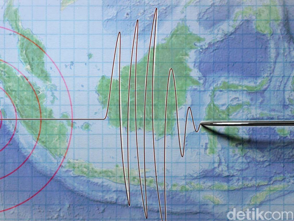 Gempa 5 SR Dua Kali Guncang Mentawai Pagi Ini