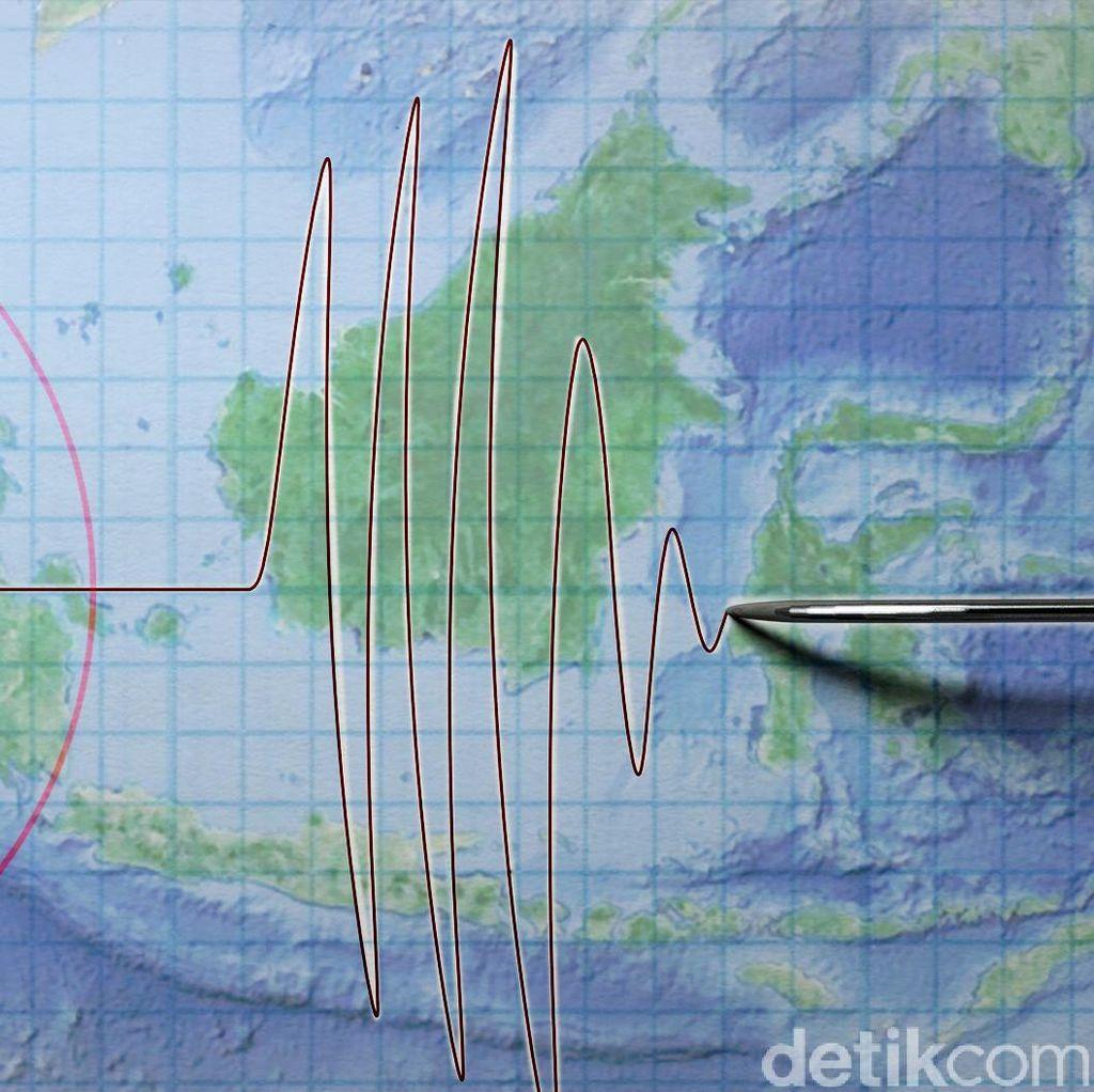Gempa 3,4 SR Terjadi di Kabupaten Karo Sumut