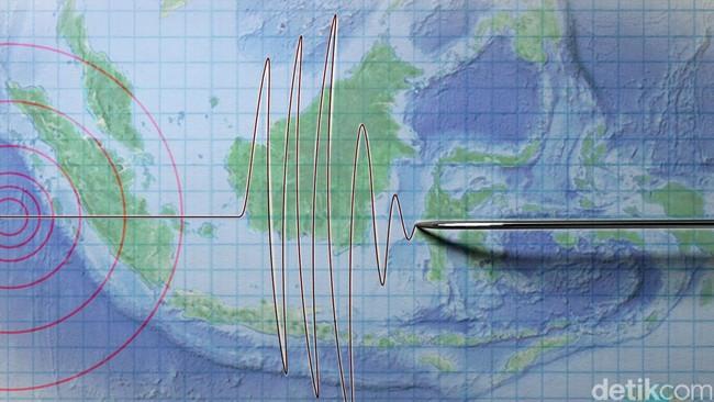 Gempa 4,6 SR Terjadi di Kabupaten Pesisir Barat Sumbar