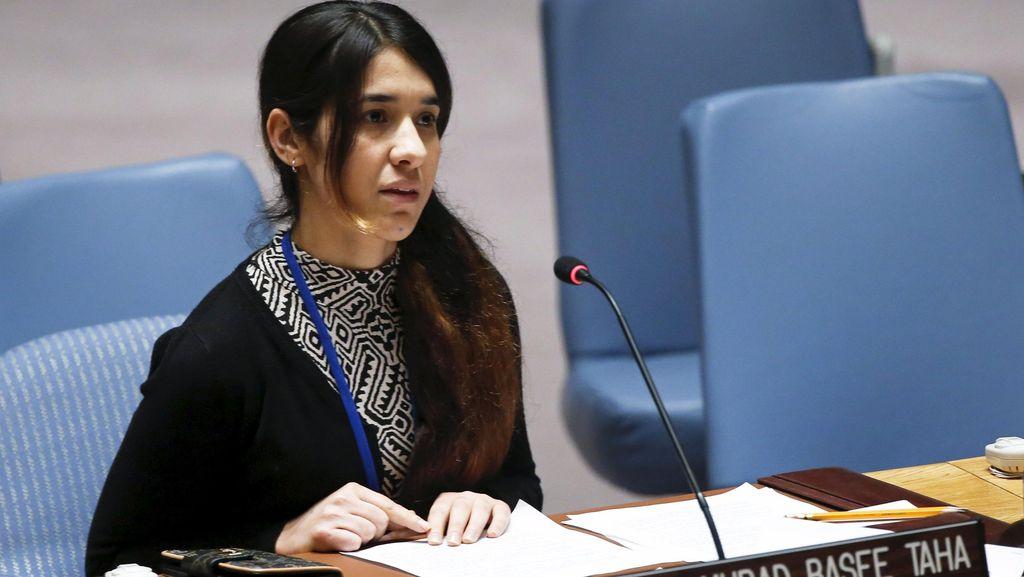 Raih Nobel Perdamaian, Ini Kata Nadia Murad Bekas Budak Seks ISIS