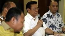 Nurdin Halid: Kami Terima Surat dari Menkum, SK Agung Laksono Dicabut