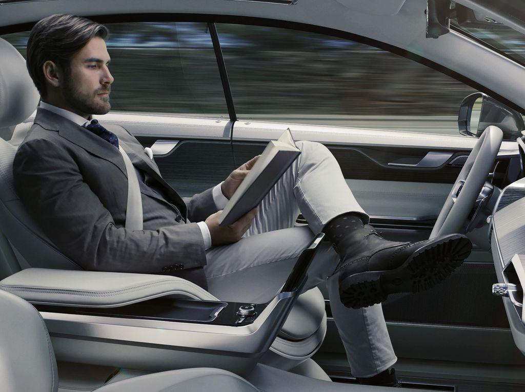 Volvo Akan Bikin Mobil Otonom untuk Uber
