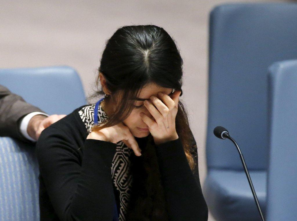 Potret Nadia Murad, Bekas Budak Seks ISIS Peraih Nobel Perdamaian