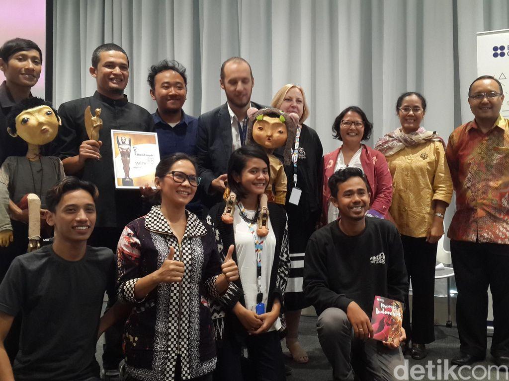 Aceh Meukondroe Karya Kande Raih Herald Angels Award 2015