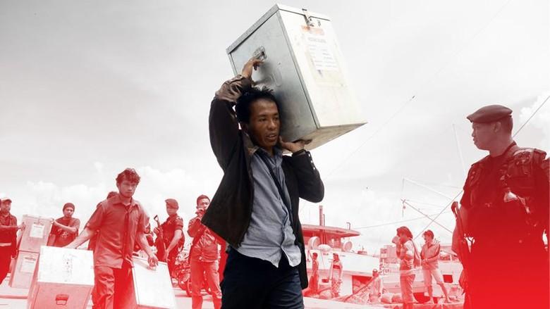 KPU Relokasi 176 TPS Rawan Banjir di Kabupaten Bandung