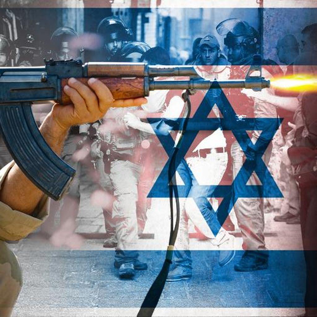 Bentrok dengan Militer Israel, Warga Palestina Tewas Ditembak