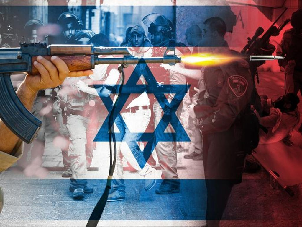 Pria Palestina Ditembak Tentara Israel dari Belakang Tanpa Alasan