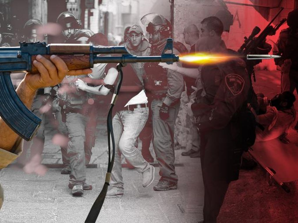 Acungkan Pisau, Perempuan Palestina Tewas Ditembak Pasukan Israel