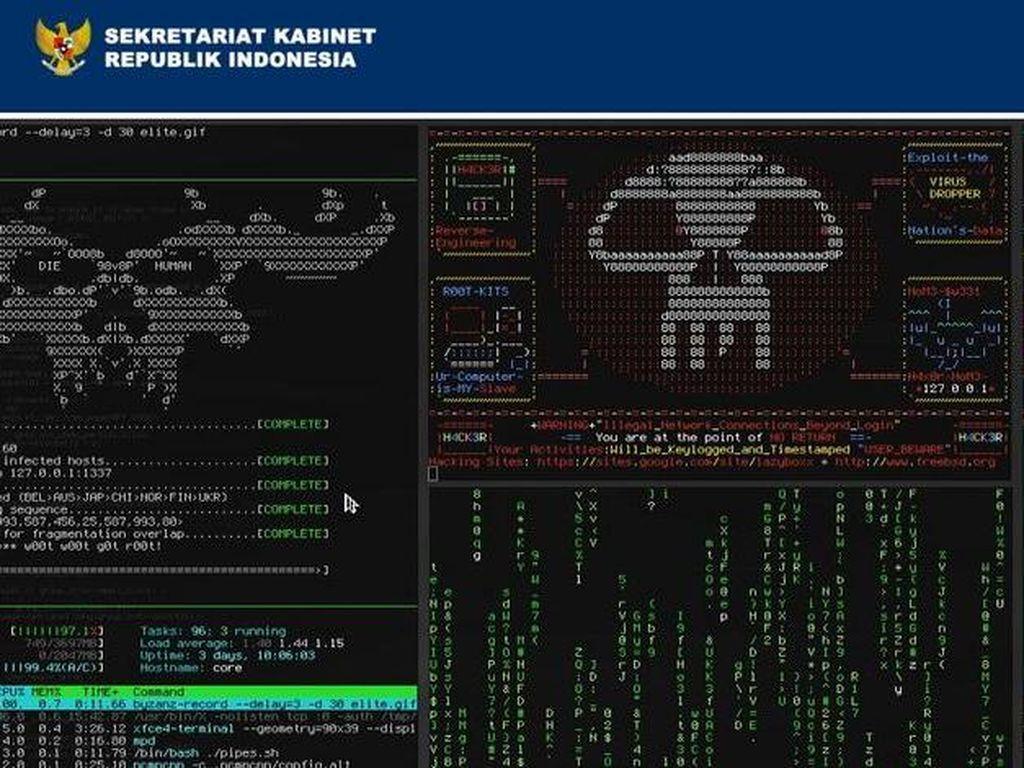 Situs Setkab Diretas: Kini oleh Padang Blackhat, Dulu Hacker China