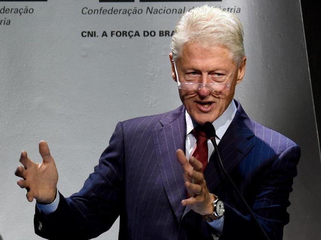 Bill Clinton Siapkan Memoar tentang Kehidupan Usai Tinggalkan Gedung Putih