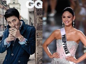 Disinggung Soal Siwon dan Super Junior, Miss Universe Tertawa