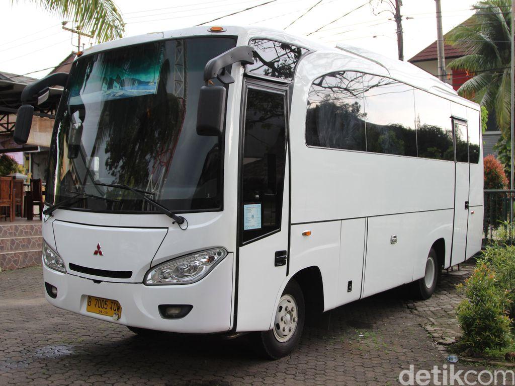 Foto: Ini Penampakan Bus Party Royal VIP yang Disita Kemenhub