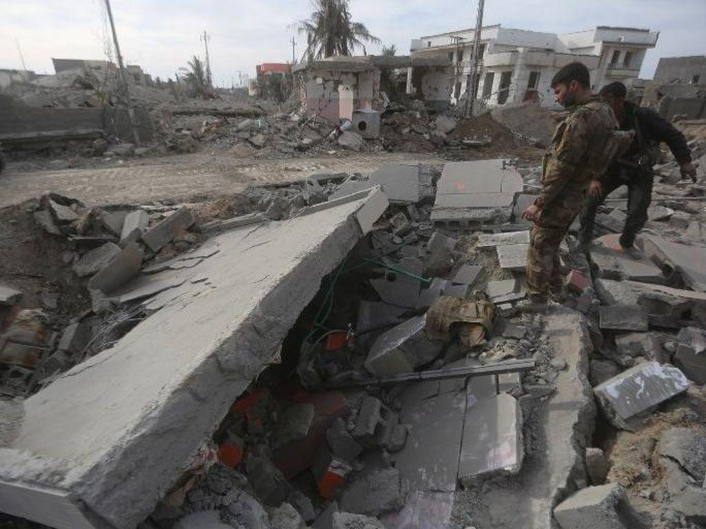Adu Roket Militer AS-Pemberontak Irak, Desa Sekitar Ikut Hancur