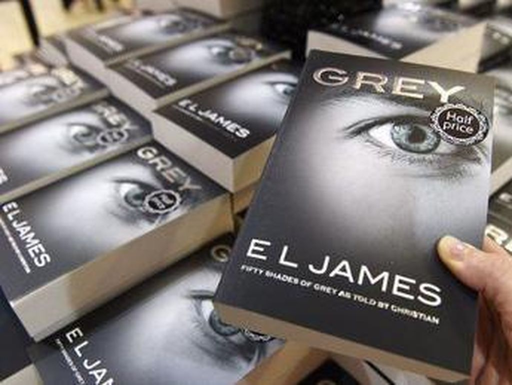 Keren! Trilogi Fifty Shades of Grey Jadi Novel Terlaris Satu Dekade
