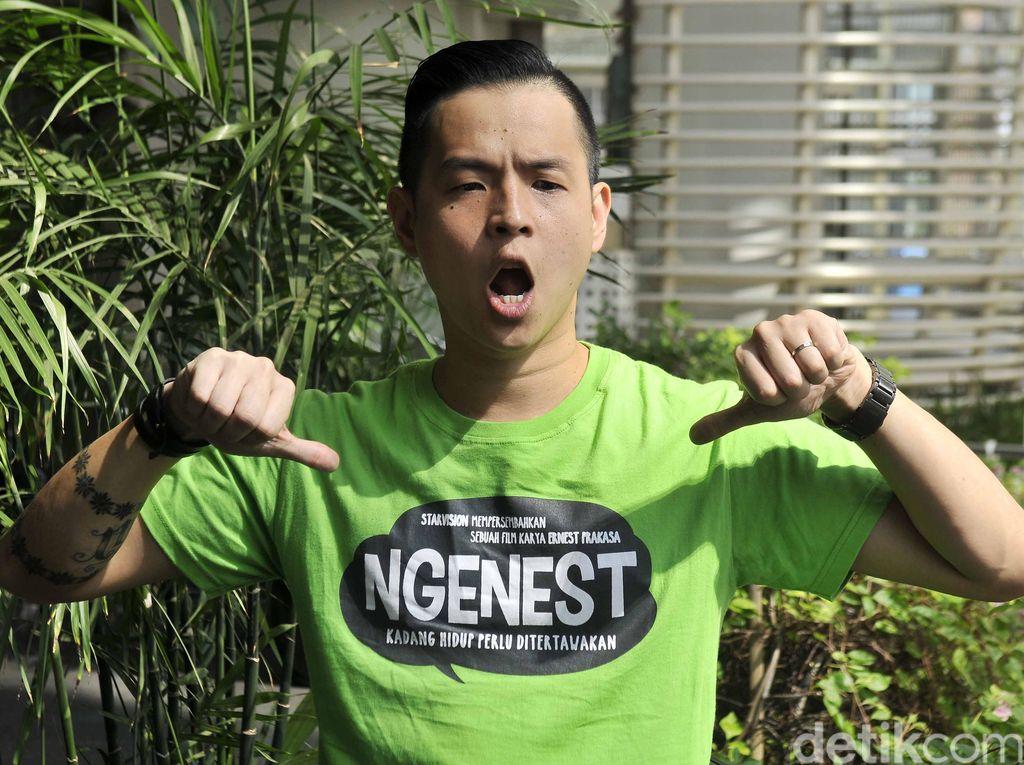 Cuit Soal Jokowi, Ernest: Masa-masa Gila