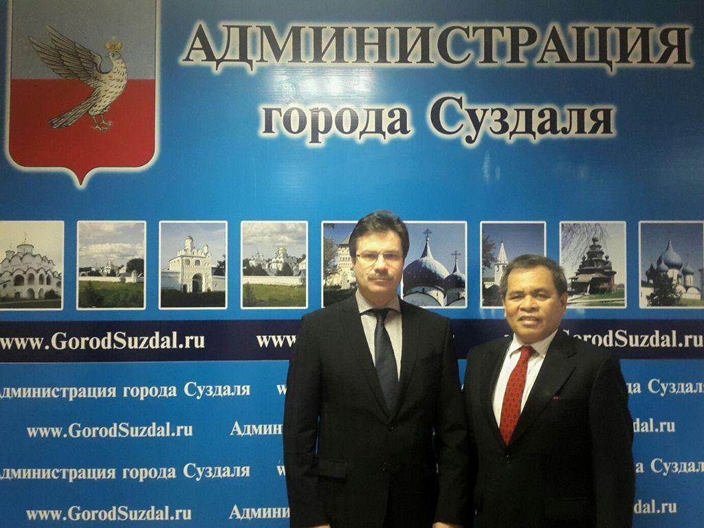 RI Sambut Hangat Rencana Kerja Sama Sister Cities dengan 2 Kota Rusia