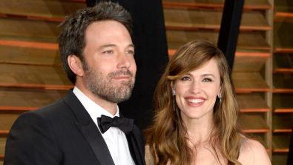 Ben Affleck Soal Berbagi Hak Asuh Anak dengan Jennifer Garner