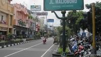 Demi Jokowi, Lampu Taman di Malioboro Dihidupkan Lagi