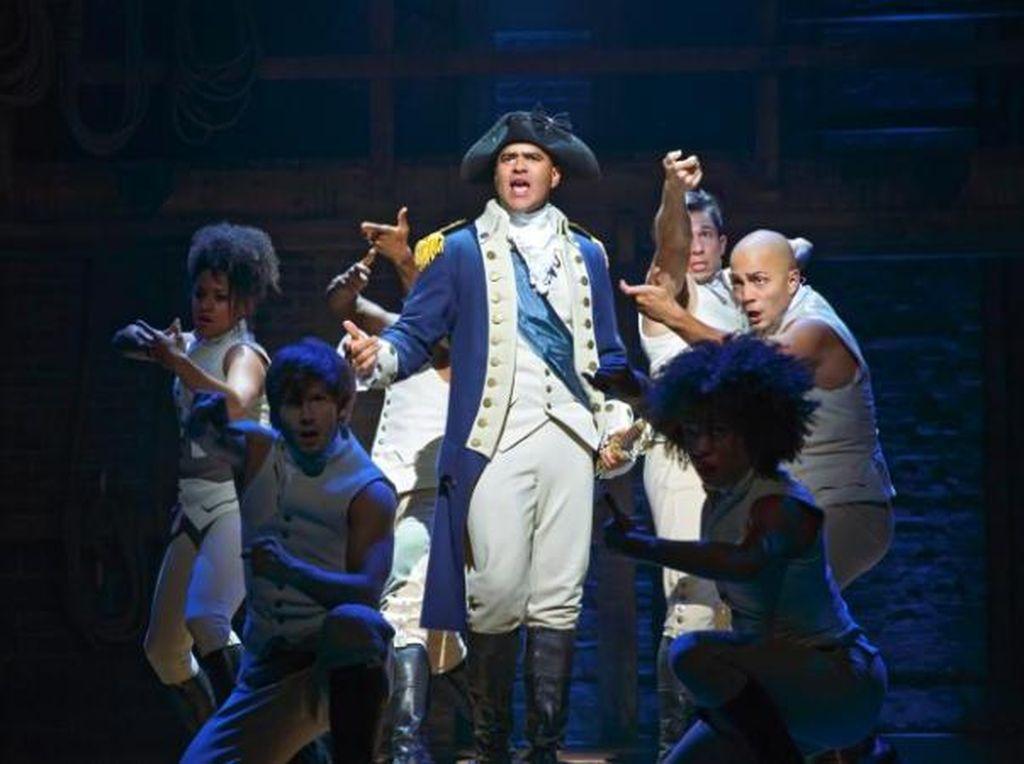 Hamilton Jadi Broadway AS Terlaris di Libur Natal dan Tahun Baru