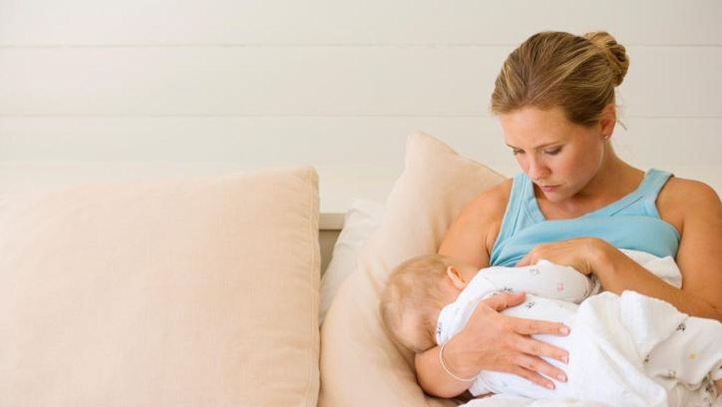 Mulanya ASI Hanya Beberapa Tetes, Ini Perjuangan Meri Menyusui Bayinya