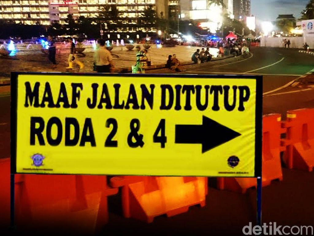 Ada Demo Buruh, Jalan ke Arah Istana Negara Ditutup