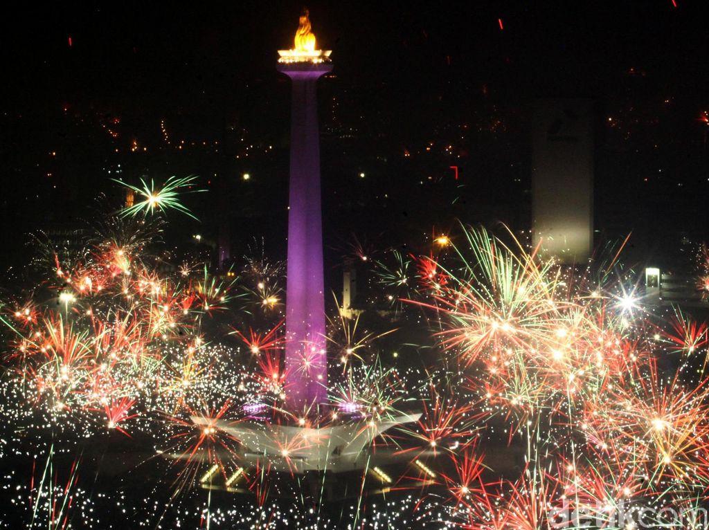 Perayaan Tahun Baru di Indonesia: Kembang Api hingga Car Free Night