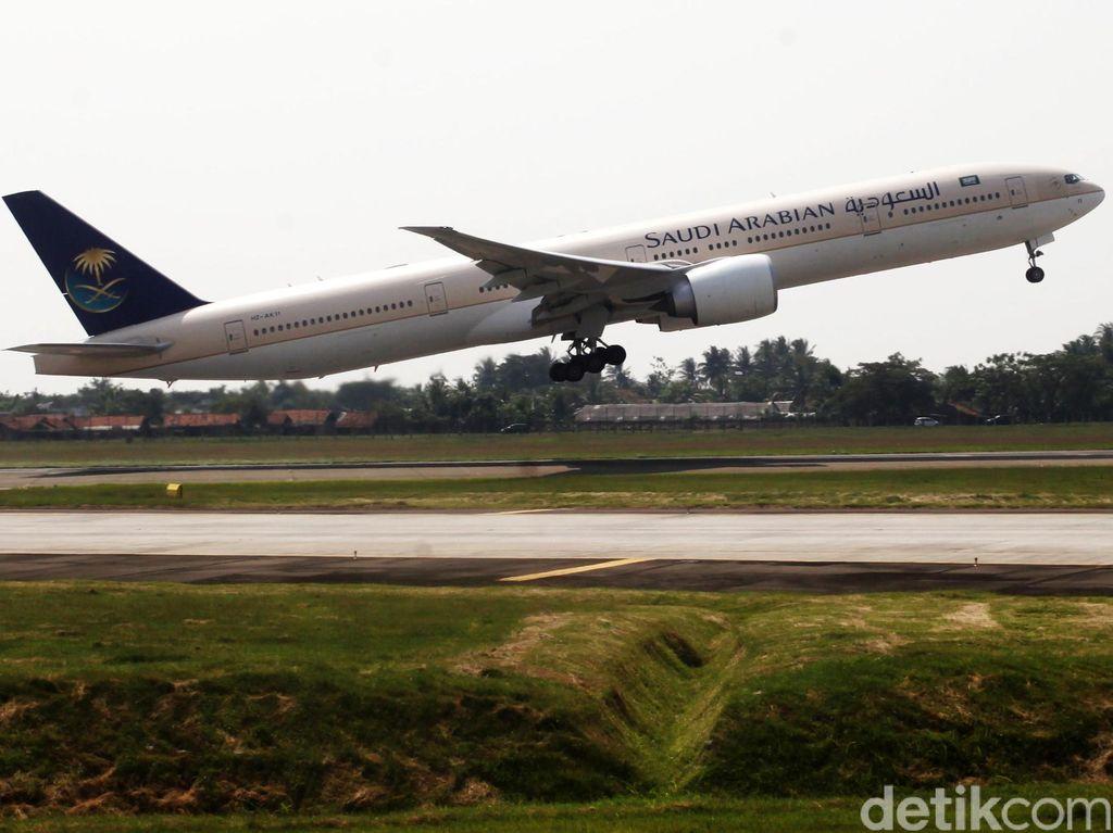 Pertama dalam 27 Tahun, Saudi Arabian Airlines Terbang ke Baghdad