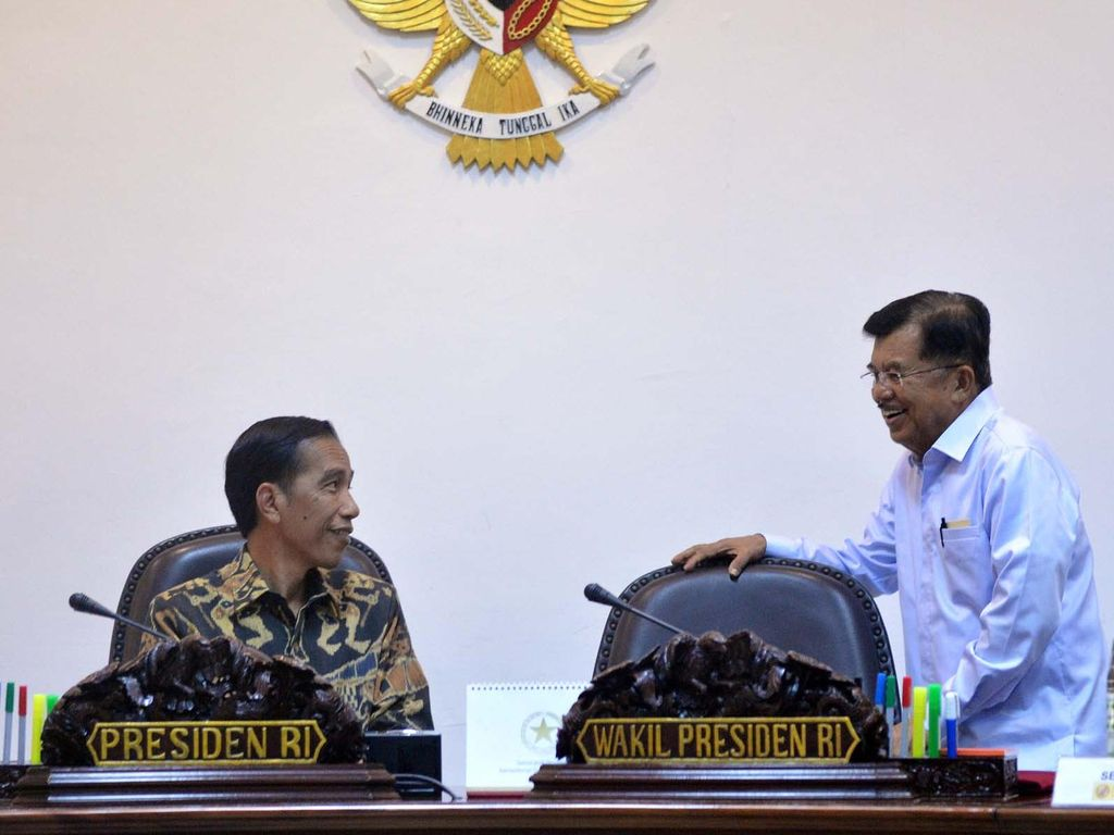 JK Pertimbangkan Jadi Ketua Timses Jokowi-Maruf Amin
