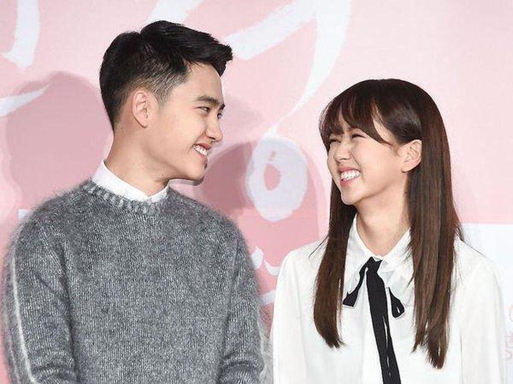 Tak Ada Ciuman dengan Kim So Hyun di Film, D.O EXO Sebel
