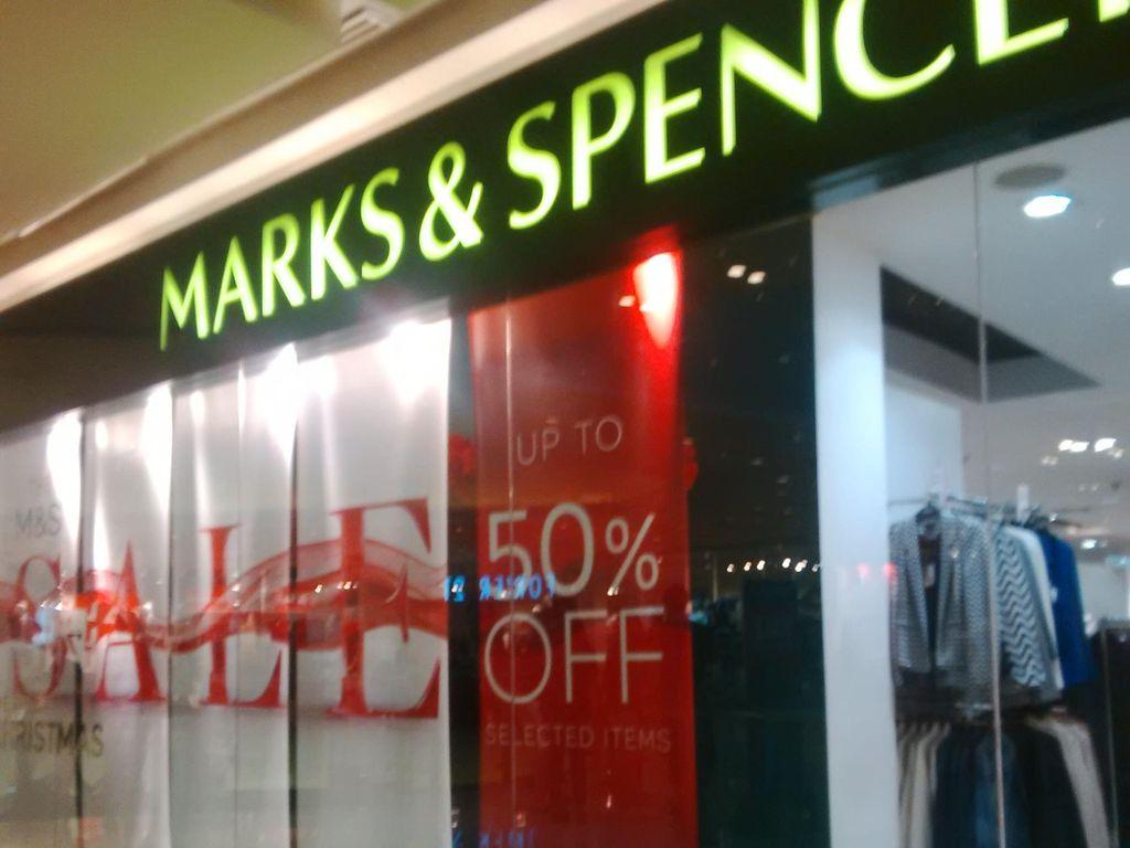 Pertama Kali Dalam 94 Tahun, Marks & Spencer Rugi!